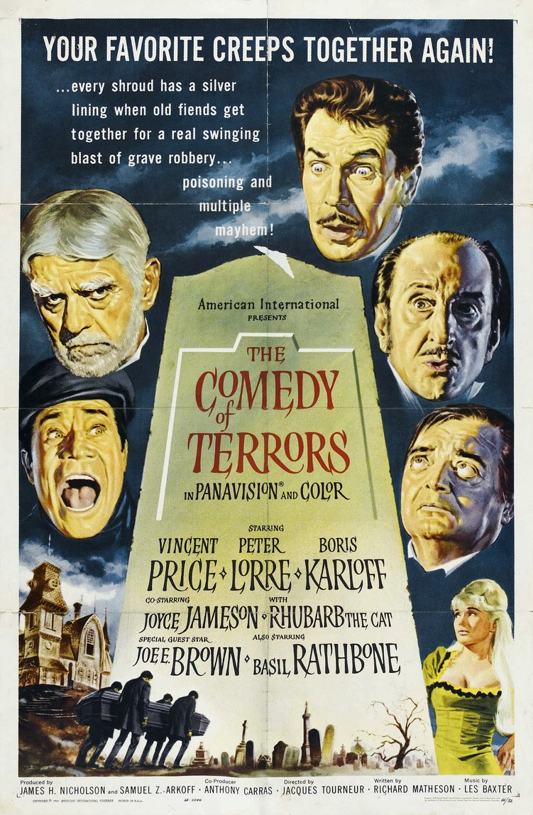 The Comedy Of Terrors